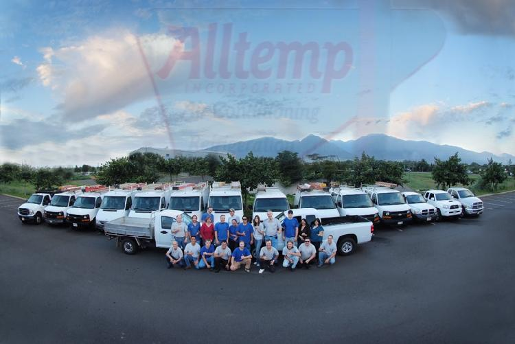 Alltemp Air Conditioning & Refrigeration Team Photo